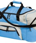 Port and Company BG99 Colorblock Sport Duffel Carolina Blue