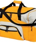Port and Company BG99 Colorblock Sport Duffel Gold