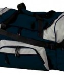 Port and Company BG99 Colorblock Sport Duffel Navy