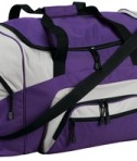Port and Company BG99 Colorblock Sport Duffel Purple