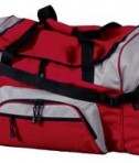 Port and Company BG99 Colorblock Sport Duffel Red