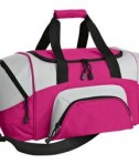 Port and Company BG99 Colorblock Sport Duffel Tropical Pink
