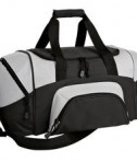 Port & Company BG990 S Improved Colorblock Small Sport Duffel Black