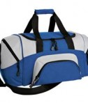 Port & Company BG990 S Improved Colorblock Small Sport Duffel Royal