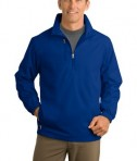 Port & Company J703 Half Zip Jacket Tidal Blue