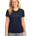 Port & Company LPC380 Ladies Essential Performance Tee Deep Navy