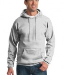 Port & Company PC90H Ultimate Pullover Hooded Sweatshirt Ash