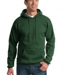 Port & Company PC90H Ultimate Pullover Hooded Sweatshirt Dark Green