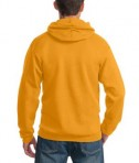 Port & Company PC90H Ultimate Pullover Hooded Sweatshirt Gold Back