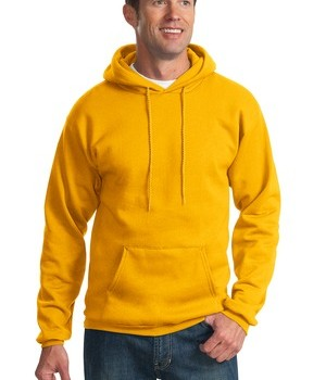 Port & Company PC90H Ultimate Pullover Hooded Sweatshirt Gold