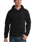 Port & Company PC90H Ultimate Pullover Hooded Sweatshirt Jet Black