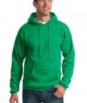 Port & Company PC90H Ultimate Pullover Hooded Sweatshirt Kelly Green