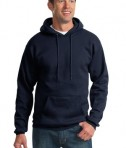 Port & Company PC90H Ultimate Pullover Hooded Sweatshirt Navy