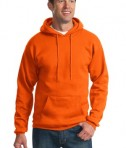Port & Company PC90H Ultimate Pullover Hooded Sweatshirt Orange