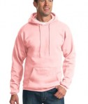 Port & Company PC90H Ultimate Pullover Hooded Sweatshirt Pale Pink
