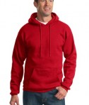 Port & Company PC90H Ultimate Pullover Hooded Sweatshirt Red