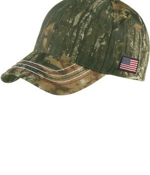 Port Authority Americana Contrast Stitch Camouflage Cap Style C909 1