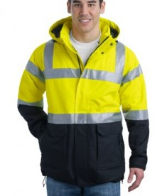 Port Authority ANSI 107 Class 3 Safety Heavyweight Parka Style J799S