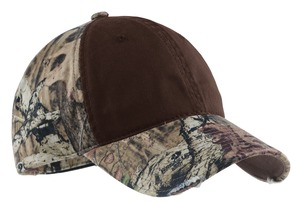 Port Authority Camo Cap with Contrast Front Panel Style C807 1