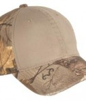 Port Authority Camo Cap with Contrast Front Panel Style C807
