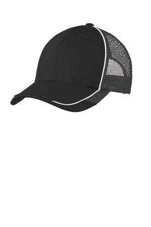 Port Authority Colorblock Mesh Back Cap Style C904 1