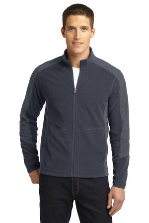 Port Authority Colorblock Microfleece Jacket Style F230 1