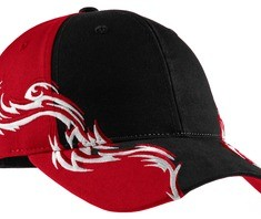 Port Authority Colorblock Racing Cap with Flames Style C859