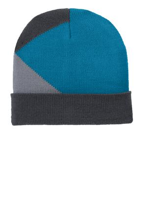 Port Authority Cuffed Colorblock Beanie Style C906 1