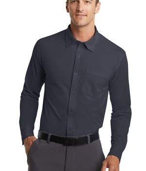 Port Authority Dimension Knit Dress Shirt Style K570 1