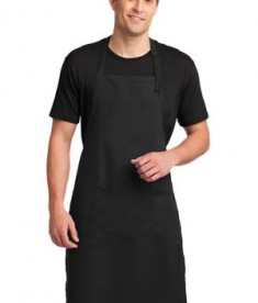 Port Authority Easy Care Extra Long Bib Apron with Stain Release Style A700