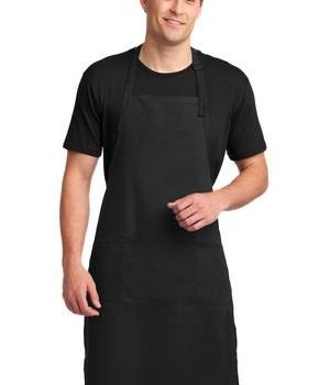 Port Authority Easy Care Extra Long Bib Apron with Stain Release Style A700 1