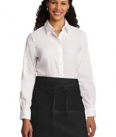 Port Authority Easy Care Half Bistro Apron with Stain Release Style A706