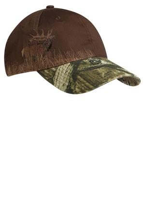 Port Authority Embroidered Camouflage Cap Style C820