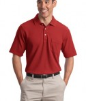Port Authority EZCotton Pique Pocket Polo Style K800P