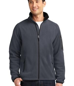 Port Authority F229 Enhanced Value Fleece Battleship Grey Black