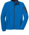 Port Authority F229 Enhanced Value Fleece Skydiver Blue/Battleship Flat