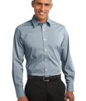 Port Authority Fine Stripe Stretch Poplin Shirt Style S647