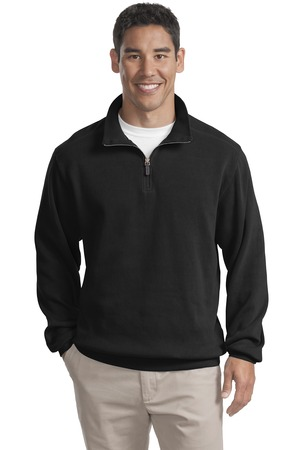 Port Authority Flatback Rib 1/4-Zip Pullover Style F220 1