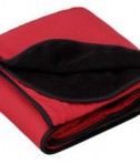 Port Authority Fleece and Nylon Travel Blanket Style TB85