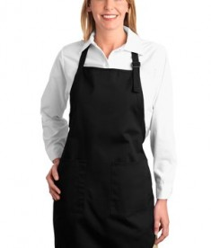 Port Authority Full Length Apron with Pockets Style A500