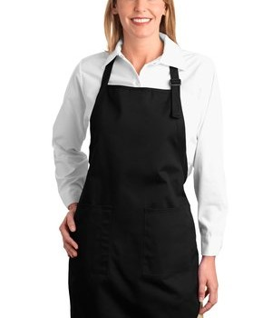 Port Authority Full Length Apron with Pockets Style A500 1