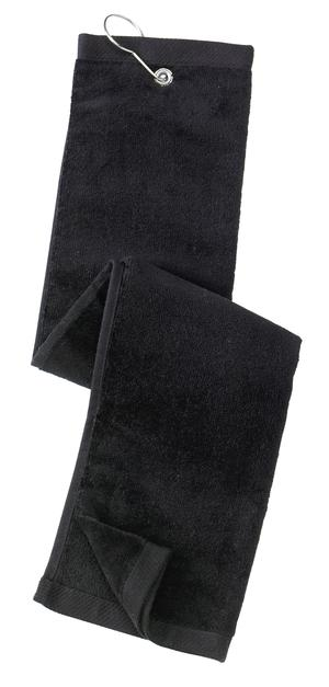 Port Authority Grommeted Tri-Fold Golf Towel Style TW50
