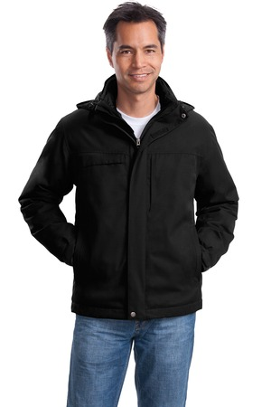 Port Authority Herringbone 3-in-1 Parka Style J302 1