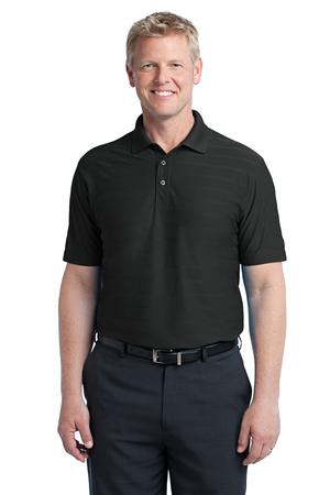 Port Authority Horizontal Texture Polo Style K514