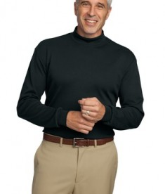 Port Authority Interlock Knit Mock Turtleneck Style K321