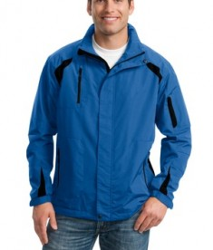 Port Authority J304 All-Season Jacket Snorkel Blue/Black