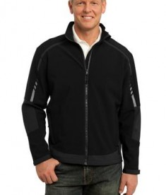 Port Authority J307 Embark Soft Shell Jacket Black