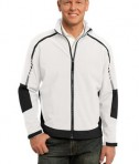 Port Authority J307 Embark Soft Shell Jacket Sea Salt White