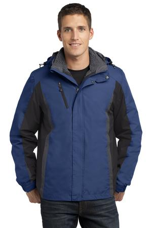 Port Authority J321 3-in-1 Jacket Admiral Blue/Black/Magnet Grey