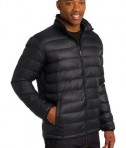 Port Authority J323 Down Jacket Black Angle